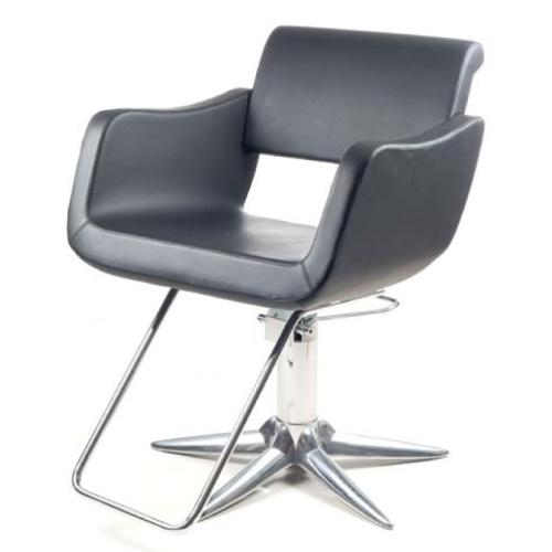 Gamma & Bross BABUSKA BLACK Styling Chair w/ Parrot Base