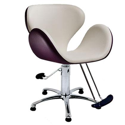 Salon Ambience SH/300 Tulip Styling Chair w/ Hydraulic Base Options