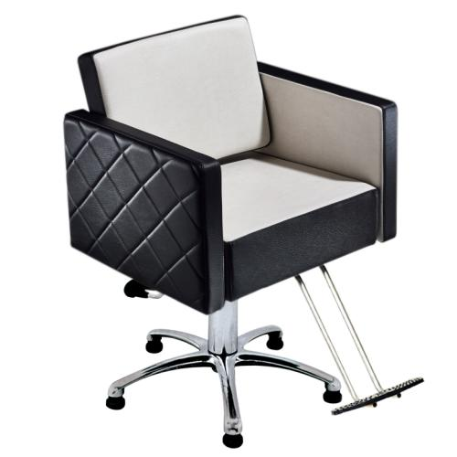 Salon Ambience CH/100 Square Styling Chair w/ Hydraulic Base Options