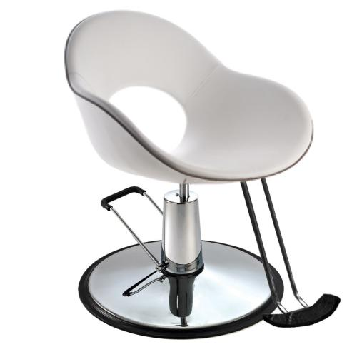 Salon Ambience LR/C600 Emilia Styling Chair - 1606 Round Base