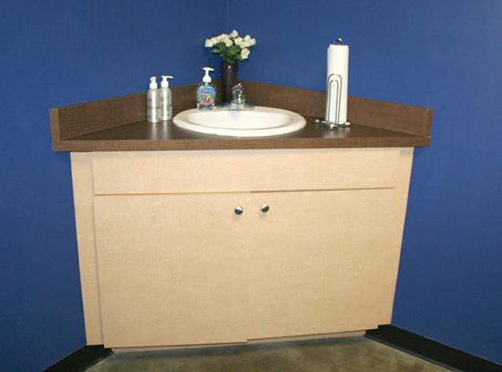 AB Salon Equipment Custom Vanity