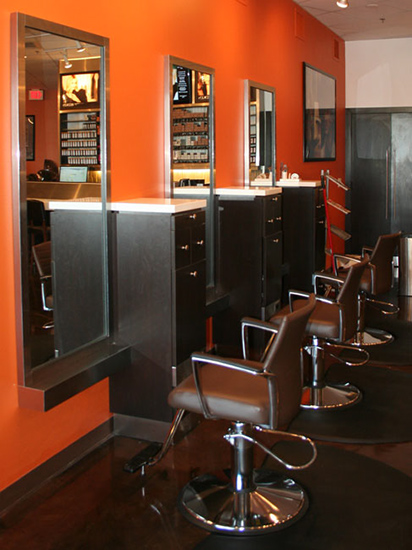 AB Salon Equipment Custom Salon and Barber Stations