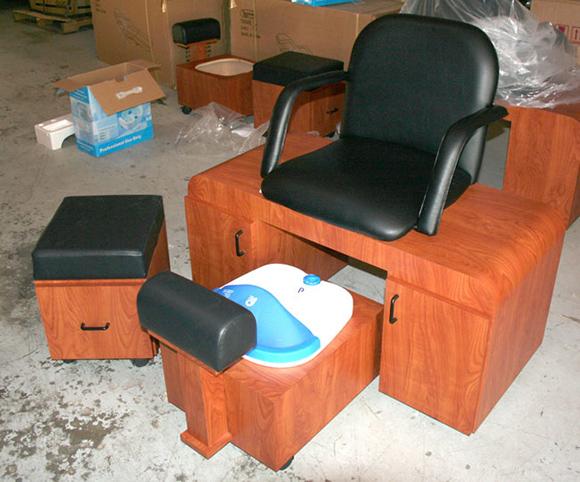 AB Salon Equipment Custom Built Pedicure Spa