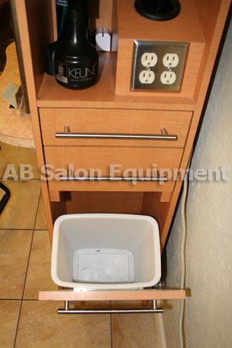 AB Salon Equipment Custom Salon Station