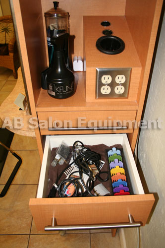 AB Salon Equipment Custom Salon Station