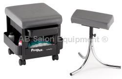 Kayline 503 PediPair Combo Pedicure Cart / Stool and Foortrest