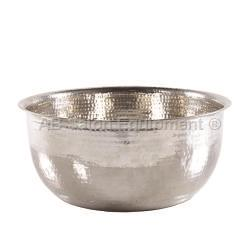 Noel Asmar PB2014N Hammered Stainless Steel Pedicure Bowl