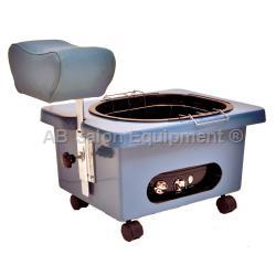 Pibbs DG105S Pedi-N-Go Portable Pedicure Spa w/ FM3848 Tub - Star Blue