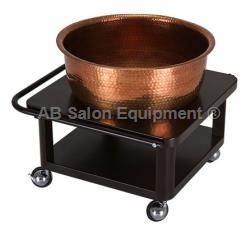 Living Earth Crafts Copper Bowl Roll Up Footbath