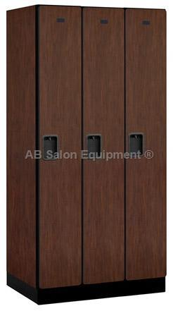 "AB Atmosphere 31361 Single Tier Designer Lockers - 3 Lockers Wide - 36"" W x 76"" H x 21"" D"