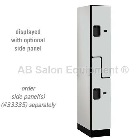 "AB Atmosphere 37161 Double Tier ""S"" Style Designer Locker - 12"" W x 76"" H x 21"" D"