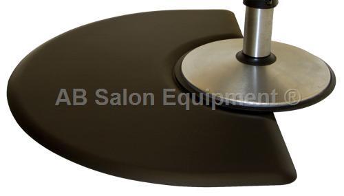 Ic Urethane 3045c Half Circle Salon Chair Floor Mat 3 X