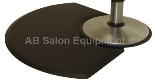 Ic Urethane 3045q Quarter Circle Salon Chair Floor Mat 3