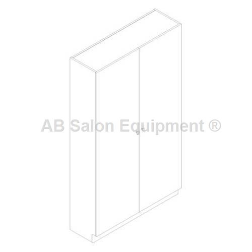Belvedere Edge EDU163TF-48 Mannequin Storage Cabinet - Thermofuse