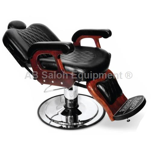 Collins 9060 Commander Ii Barber Chair With Kick Out Legrest