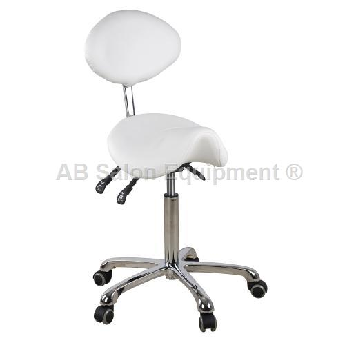 Athena ASF-1025 Stool w/ Back Support