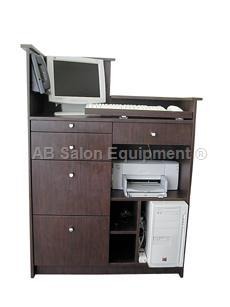 Ab salon equipment 65740 the pod desk for Ab salon equipment