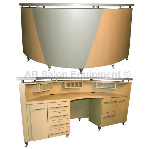 Ab salon equipment 84423 kamran reception desk for Ab salon equipment