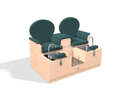 Design X 4566-D Charleston Loveseat Pedicure Spa