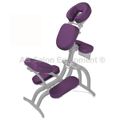Earthlite avila ii pad set chest sear armrest knees for Ab salon equipment
