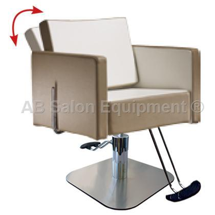 Salon ambience sh 893 4 s square all purpose chair for Ab salon equipment