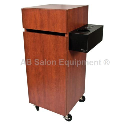 Collins 463 20 reve portable styling station for Ab salon equipment